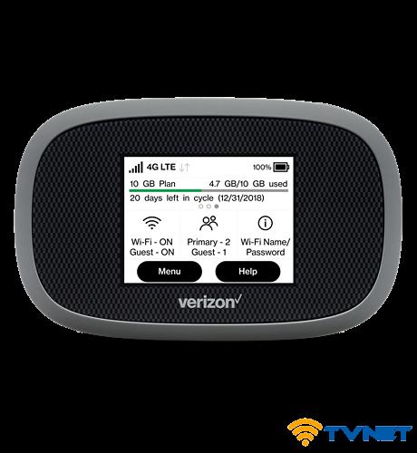 Bộ phát Wifi 4G Verizon Mifi 8800L tốc độ 1200Mbps. Mạnh nhất thế giới - Số 1 tại Mỹ