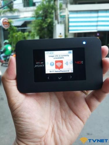 Phát Wifi 4G Netgear AC791L. Thương hiệu Verizon Mỹ