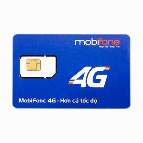 Sim 4g mobifone 62Gb/tháng miễn phí trong 12 tháng không nạp tiền