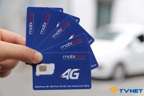 Sim 4G Mobifone C90N khủng 120Gb DATA. Miễn phí nghe gọi