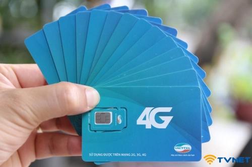 Sim 4G giá rẻ tại quận 4 TP HCM. Miễn phí 1 năm không nạp tiền