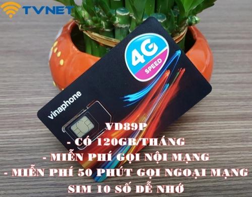 Sim 4G Vinaphone siêu khủng 60GB/Tháng, Gọi thoại miễn phí