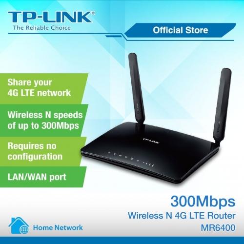 Bộ phát Wifi 4G Tp-link MR6400 tốc độ 300Mbps hàng cao cấp lắp đặt cho xe ô tô, xe khách, văn phòng