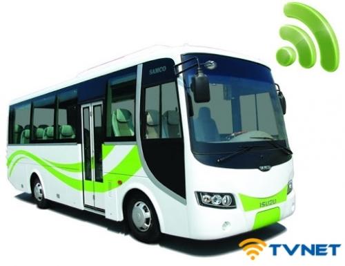 Lắp đặt Wifi 4G cho xe ô tô, xe khách, xe giường nằm, xe du lịch tại TP HCM