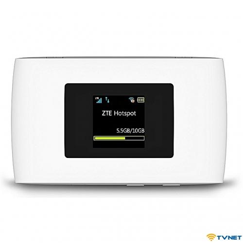 Bộ phát wifi 4G ZTE MF920VS tốc độ 150Mbps. Hỗ trợ 32 thiết bị. Pin 2800mAh